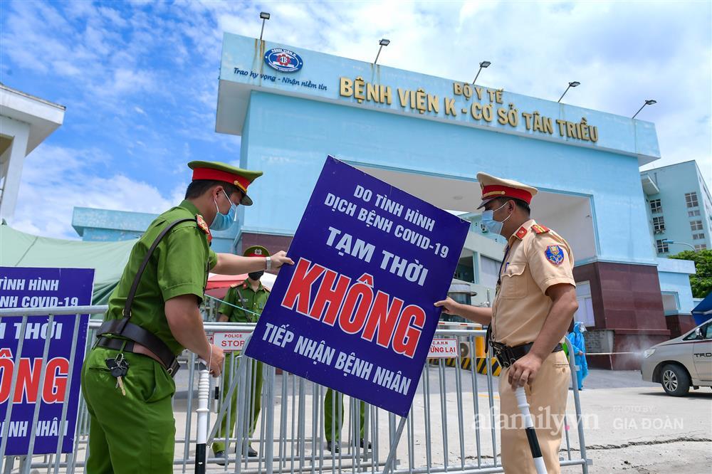 Bệnh viện K cơ sở Tân Triều dỡ phong tỏa sau 37 ngày-12