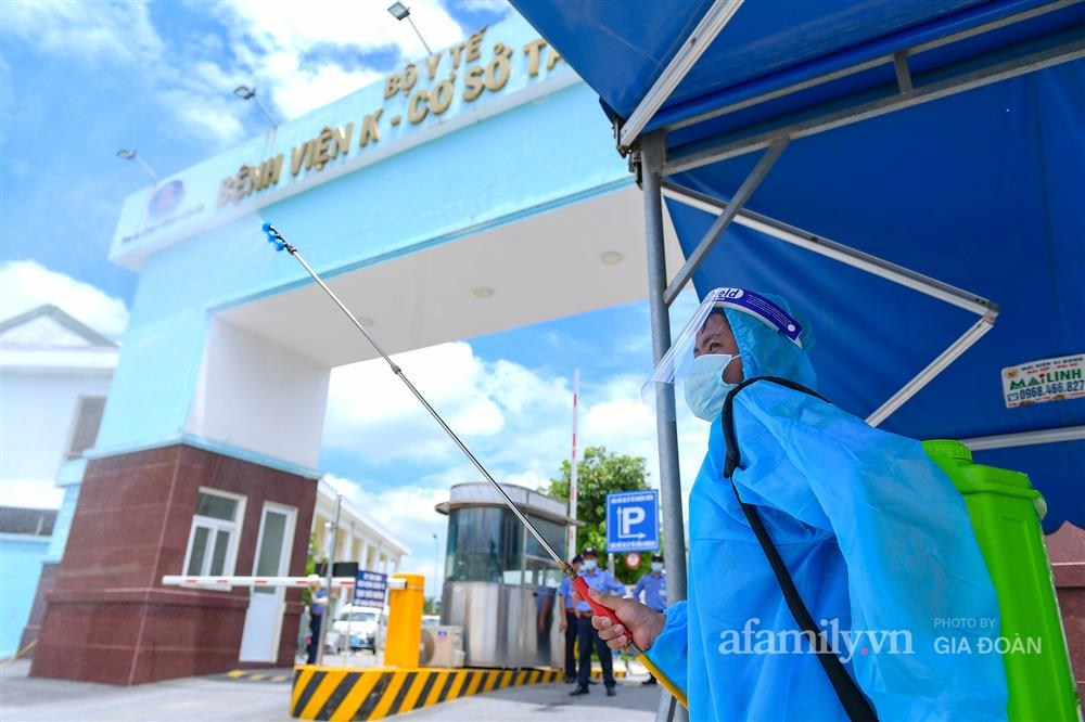 Bệnh viện K cơ sở Tân Triều dỡ phong tỏa sau 37 ngày-16