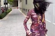 Hoàng Thùy diện áo dây dợ chằng chịt, gây tranh cãi vì 1 chi tiết mà cô ngầm phủ nhận là 'hàng fake'