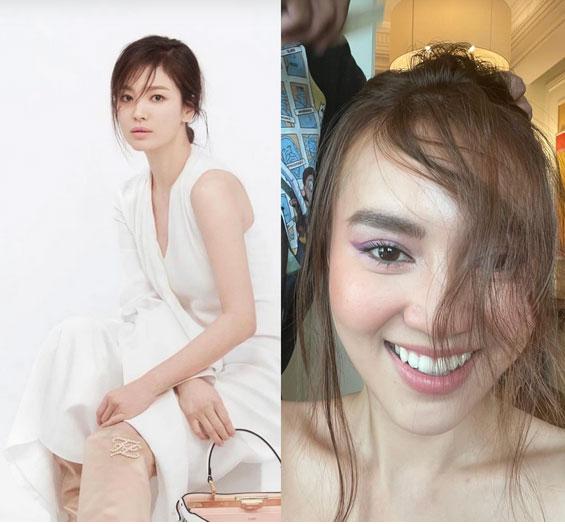 Lan Ngọc nhận cái kết đắng khi bắt chước Song Hye Kyo diện kiểu tóc lả lơi đánh tụt điểm visual-1