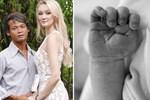 Cặp đôi 'chồng cú vợ tiên' nổi đình đám MXH chào đón con đầu lòng, hình ảnh đầu tiên về em bé 'gây sốt' dư luận