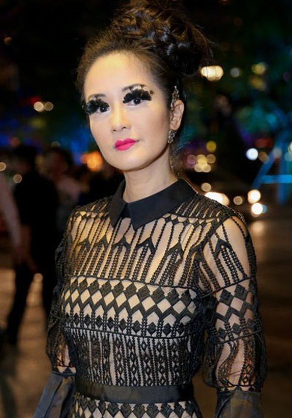 Thi thoảng nhìn lại ảnh cũ của sao Việt mà giật mình: Quá trời mỹ nhân makeup sợ phát khiếp-5