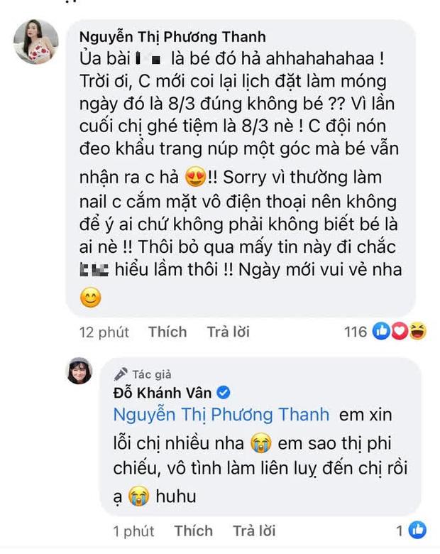 Sĩ Thanh - Khánh Vân đồng loạt lên tiếng về tin đồn choảng nhau ở tiệm nail, nhưng sao ông nói gà bà nói vịt thế này?-4
