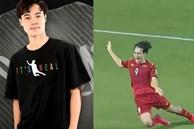 Văn Toàn in khoảnh khắc vấp ngã của mình ở trận đấu với Malaysia lên áo rồi mang đi bán, đúng là cầu thủ nhưng vẫn phải tranh thủ thì mới giàu!?