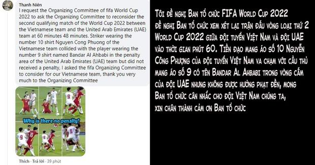 Fan Việt tấn công fanpage, kiện lên FIFA World Cup để đòi công bằng cho Công Phượng-2