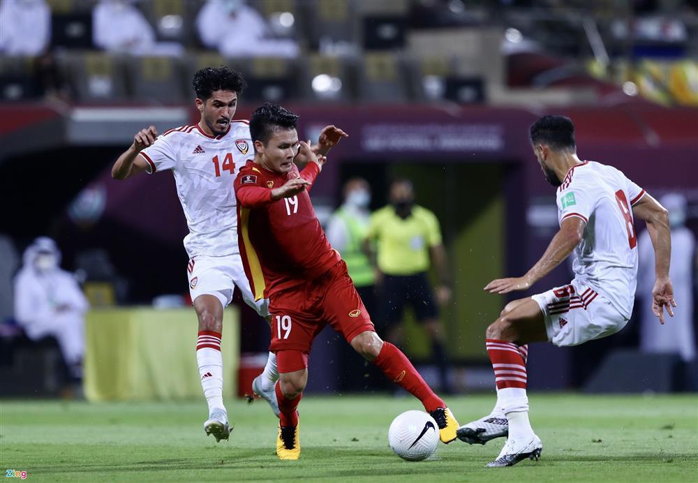 Lý giải thất bại của tuyển Việt Nam trước UAE-1