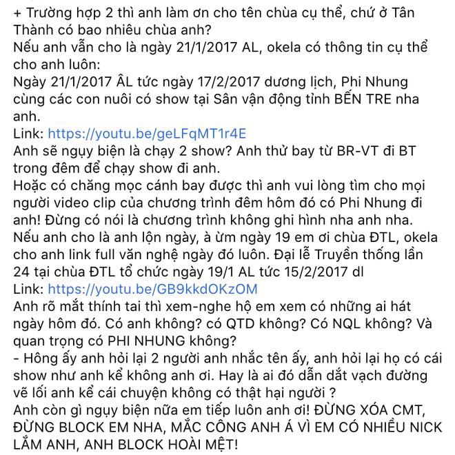 Quản lý Phi Nhung vạch ra loạt bằng chứng cụ thể tố ngược lại Lưu Chấn Long bịa đặt vụ nữ ca sĩ hét giá cát-xê cắt cổ-2