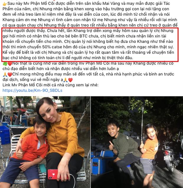 """Bố 1 diễn viên nhí bóc trần"""" con người thật của Phi Nhung khi làm việc, chi tiết liên quan Hồ Văn Cường và tiền cát xê gây chú ý-3"""