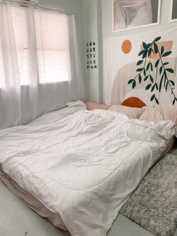 Vợ chồng mới cưới thuê nhà cũ kỹ và pha cải tạo thành không gian tối giản đầy ngoạn mục-17