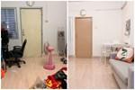 Vợ chồng mới cưới thuê nhà cũ kỹ và 'pha' cải tạo thành không gian tối giản đầy ngoạn mục