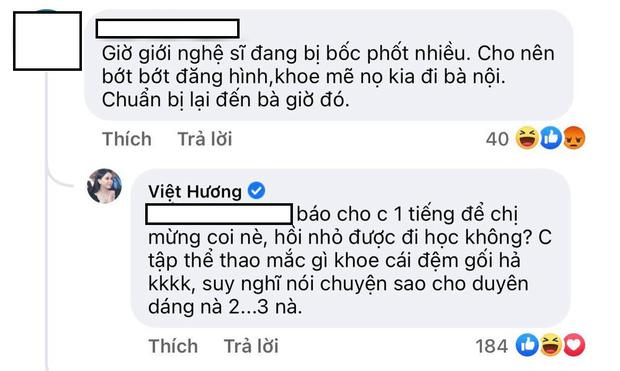 Bị nhắc nhở cẩn thận nếu không muốn dính biến bóc phốt, Việt Hương có màn đáp trả khiến antifan câm nín-2