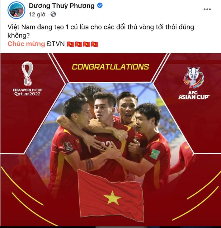 Hội WAGs phát cuồng vì tuyển Việt Nam vào vòng loại 3 World Cup-1