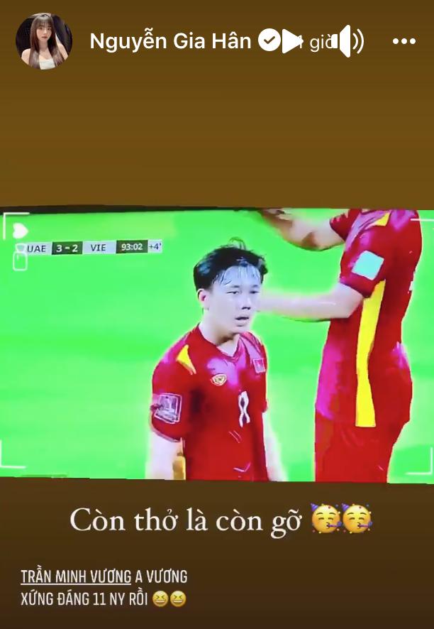 Hội WAGs phát cuồng vì tuyển Việt Nam vào vòng loại 3 World Cup-6