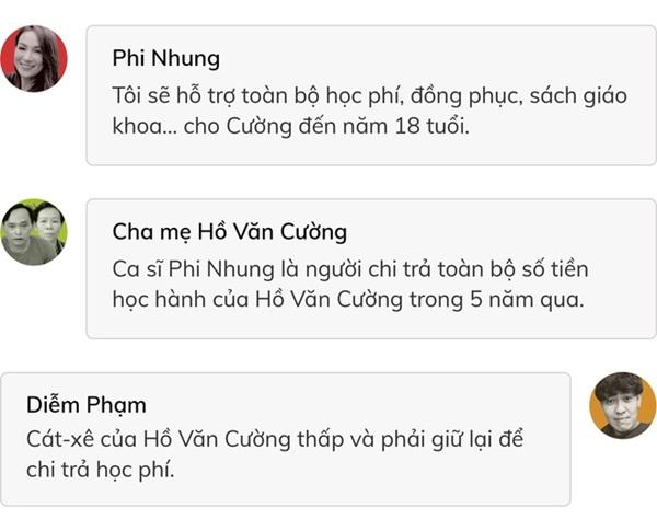 6 câu hỏi liên quan tới Hồ Văn Cường cần Phi Nhung giải đáp-2