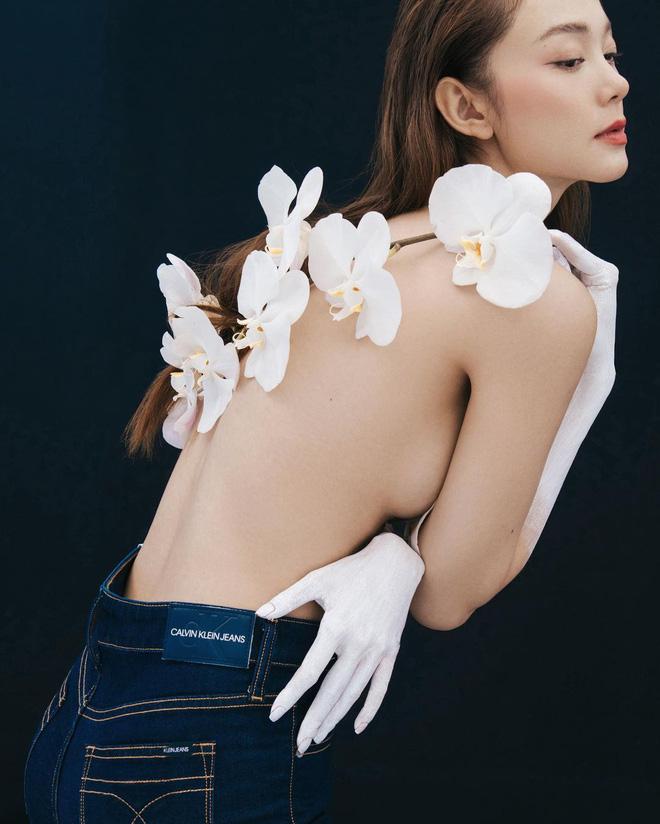 Minh Hằng diện mẫu bra bé bằng bàn tay nhưng khuôn ngực o ép khét lẹt kia mới là tâm điểm-9