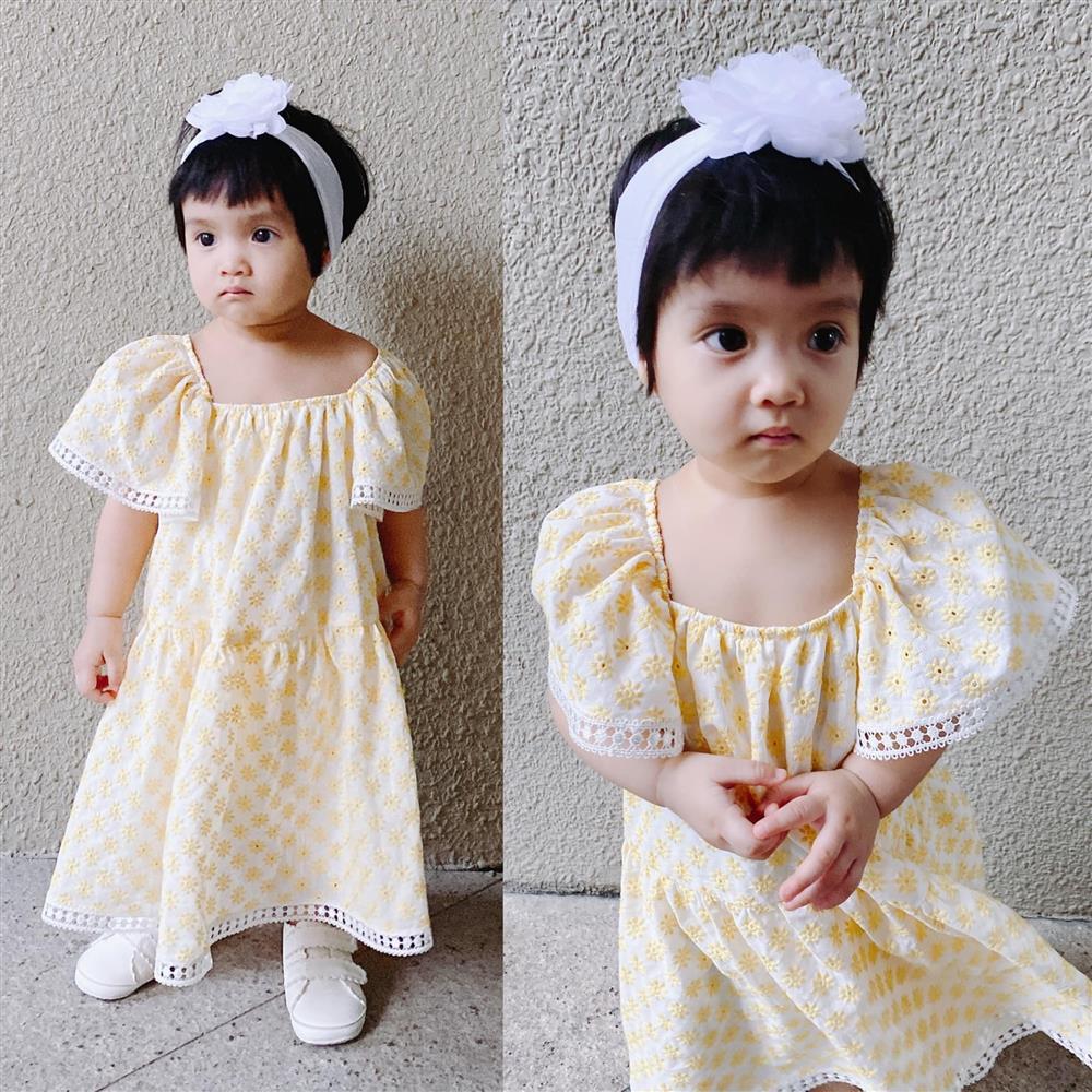 Mới 3 ngày tuổi đã được bố nuôi đón về với lý do không ai ngờ đến, con gái NTK Đỗ Mạnh Cường ngày càng xinh đẹp-11