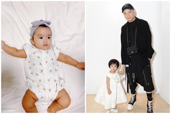 Mới 3 ngày tuổi đã được bố nuôi đón về với lý do không ai ngờ đến, con gái NTK Đỗ Mạnh Cường ngày càng xinh đẹp-21