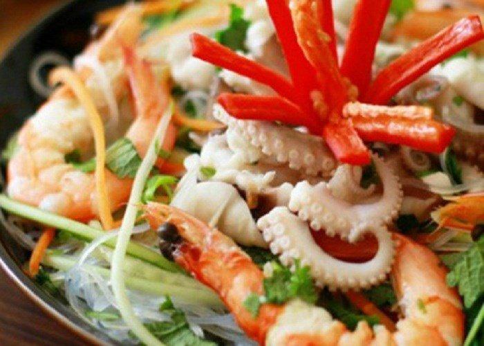 Buổi chiều đổi vị với món miến trộn hải sản kiểu Thái-1