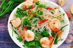 Buổi chiều đổi vị với món miến trộn hải sản kiểu Thái