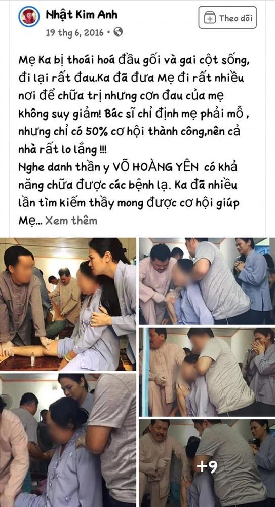 Nhật Kim Anh giải thích lý do không lên tiếng vạch mặt Võ Hoàng Yên dù từng đưa mẹ tới khám-1