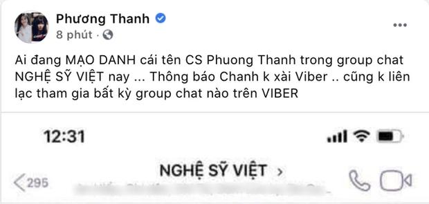 Nóng: Phương Thanh, Trịnh Kim Chi lên tiếng về nhóm chat Nghệ sĩ Việt chuyên nói xấu đang gây xôn xao MXH-1