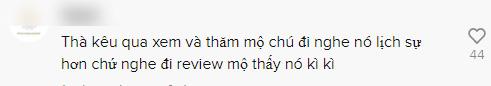Đến thăm mộ cố NS Chí Tài, Khoa Pug bị phản ứng dữ dội khi dùng từ 'đi review mộ'-1