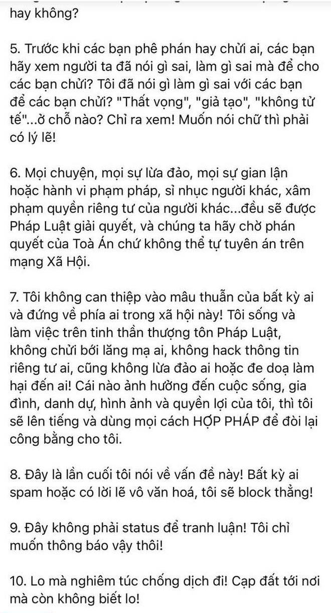 Bị tố tham gia nhóm chat Nghệ sĩ Việt, Nguyễn Văn Chung liệt kê 7 điều để phản pháo và còn mắng netizen gay gắt?-2
