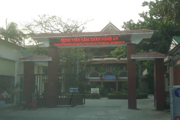 Nữ điều dưỡng Bệnh viện Tâm thần Nghệ An dương tính với SARS-CoV-2, phong tỏa cả khoa gần 100 người-1