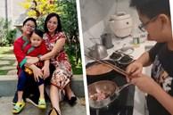 Nữ giám đốc ở Hà Nội nhàn tênh vì 'tôn chỉ thép' trong việc dạy con: Trai hay gái đều phải xuống bếp, bố mẹ đi vắng con biết cách tự no bụng