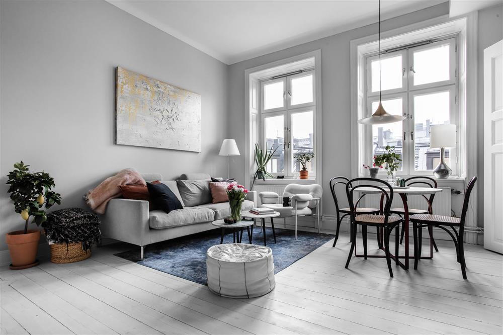 Sau nhiều năm tiết kiệm, cô gái trẻ đã mua được căn hộ 39m² và cải tạo thành không gian đẹp ngọt ngào-2