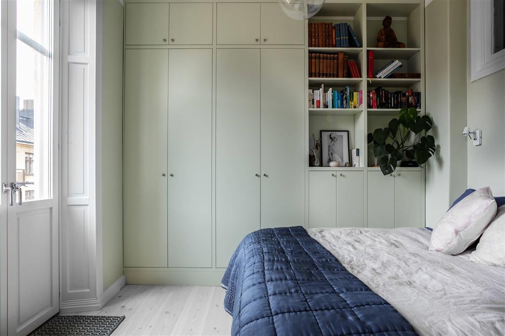 Sau nhiều năm tiết kiệm, cô gái trẻ đã mua được căn hộ 39m² và cải tạo thành không gian đẹp ngọt ngào-11