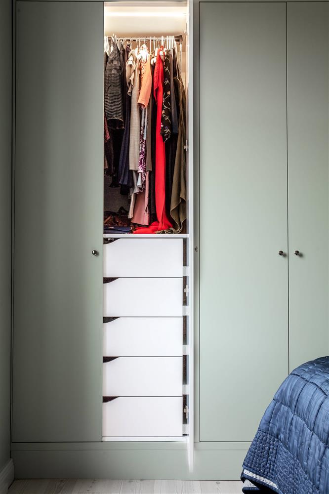 Sau nhiều năm tiết kiệm, cô gái trẻ đã mua được căn hộ 39m² và cải tạo thành không gian đẹp ngọt ngào-13