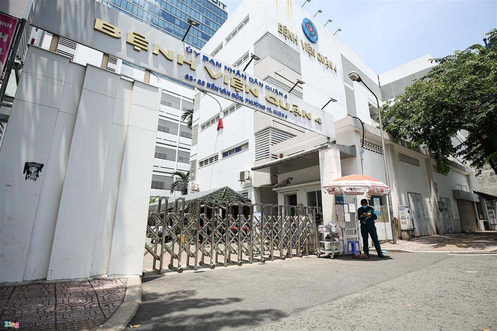Phong tỏa khẩn Bệnh viện quận 4-1