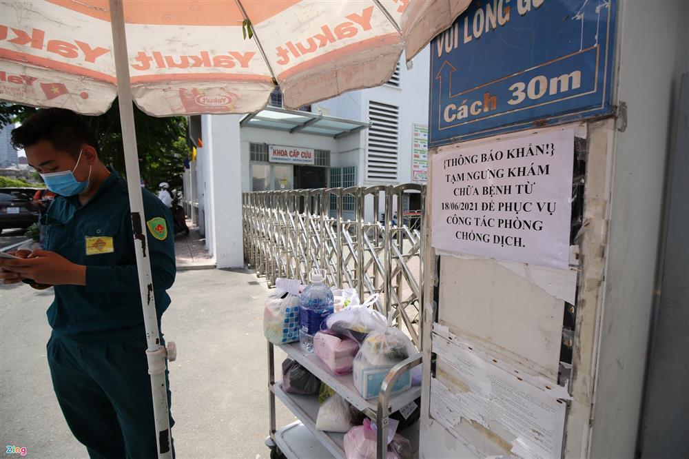Phong tỏa khẩn Bệnh viện quận 4-2