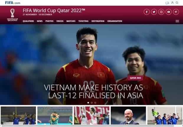 Trang chủ FIFA đặt ĐT Việt Nam ở vị trí to, đẹp, khen là bất ngờ lớn nhất-1