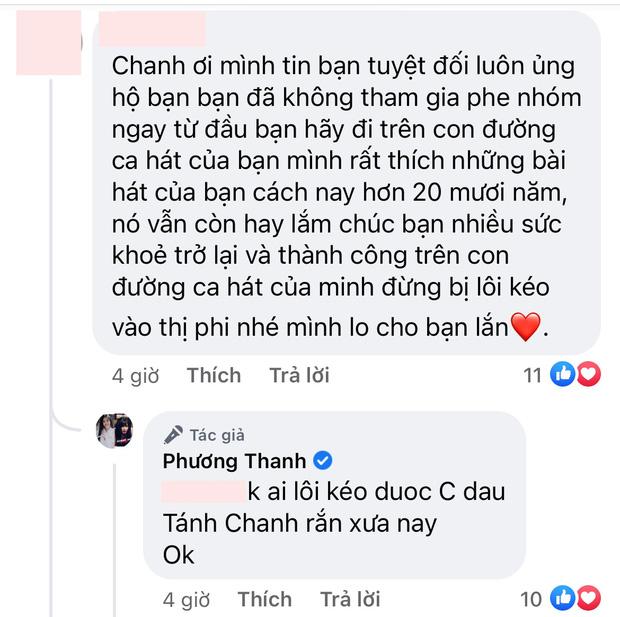 """5 lần 7 lượt phủ nhận cuối cùng Phương Thanh cũng thừa nhận có tồn tại nhóm chat Nghệ sĩ Việt""""?-2"""