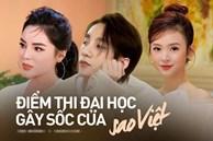 Điểm thi đại học của dàn sao Việt: Sơn Tùng M-TP thủ khoa, Tóc Tiên thủ khoa, riêng 1 Hoa hậu trung bình môn dưới 5 điểm
