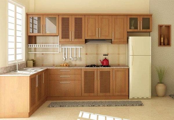 Bếp nhỏ cỡ nào mà thiết kế theo kiểu này cũng trở nên hoàn hảo với đầy đủ công năng sử dụng-2