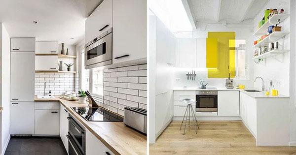 Bếp nhỏ cỡ nào mà thiết kế theo kiểu này cũng trở nên hoàn hảo với đầy đủ công năng sử dụng-4