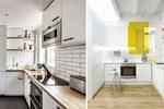 Bếp nhỏ cỡ nào mà thiết kế theo kiểu này cũng trở nên hoàn hảo với đầy đủ công năng sử dụng