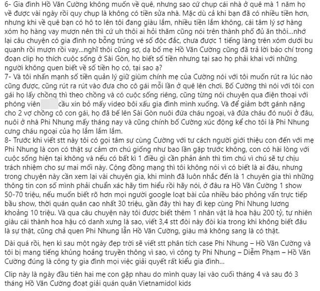 Người giới thiệu Hồ Văn Cường cho Phi Nhung tiết lộ 8 sự thật liên quan tới lùm xùm vừa qua, bóng gió về Hoa hậu 200 tỷ-2