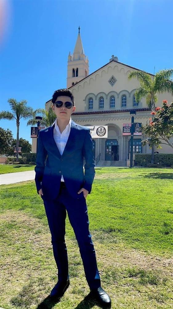 Con trai 18 tuổi điển trai, học giỏi của Bằng Kiều và Trizzie Phương Trinh-8