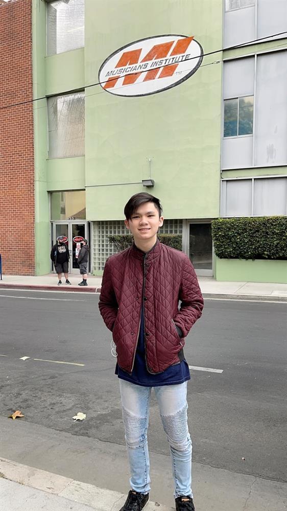 Con trai 18 tuổi điển trai, học giỏi của Bằng Kiều và Trizzie Phương Trinh-9