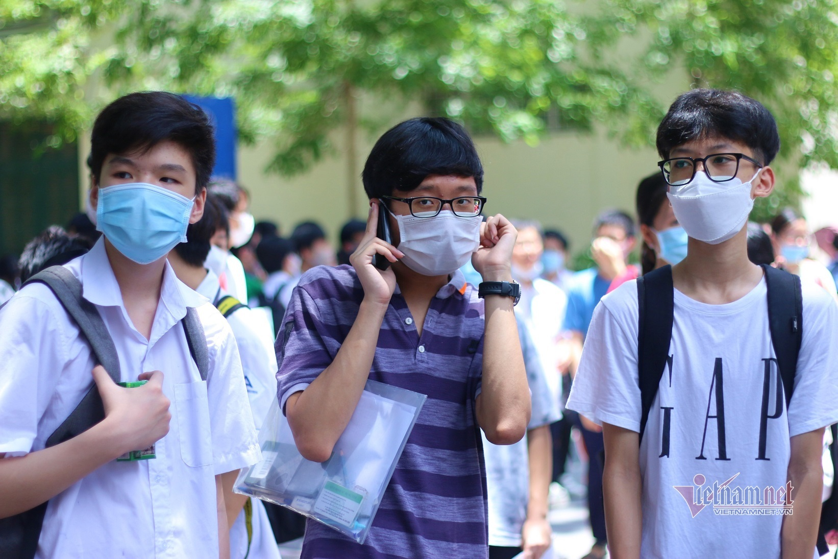 Các hiệu trưởng ở Hà Nội nhận định điểm thi, điểm chuẩn vào lớp 10-2