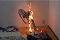 Nửa đêm, quạt cháy phừng phừng chảy nhựa ra sàn nhà: 5 lưu ý phải nhớ khi dùng quạt vào ngày nóng đỉnh điểm