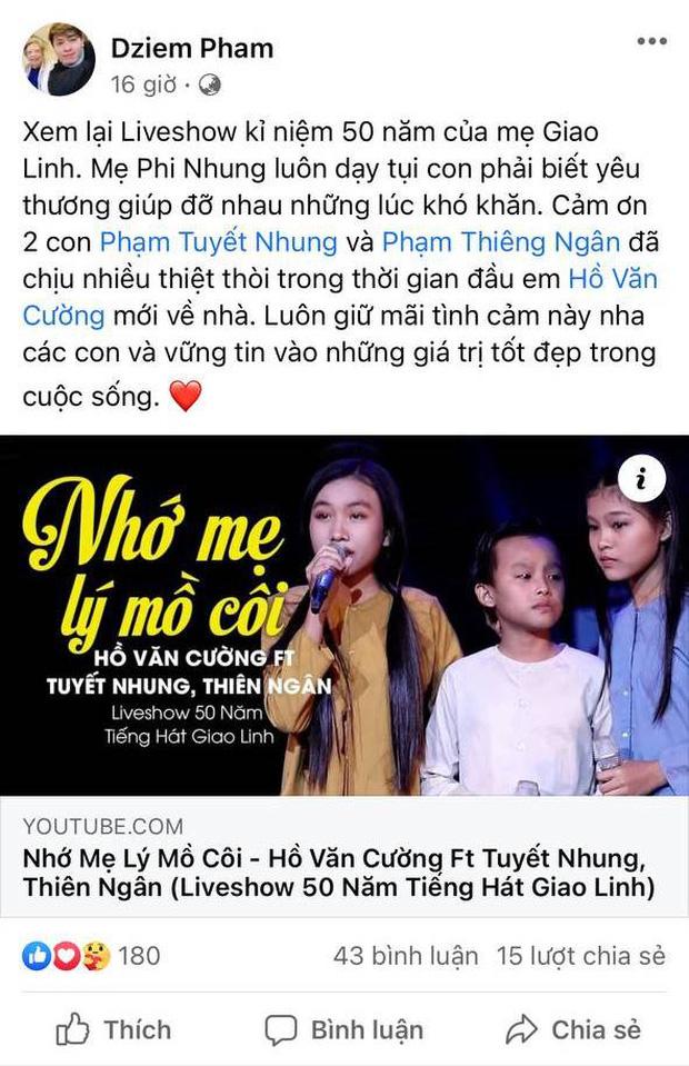 Quản lý bất ngờ tiết lộ 2 con gái nuôi của Phi Nhung chịu thiệt thòi khi Hồ Văn Cường chuyển tới-1