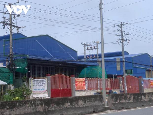 Một doanh nghiệp ở Tiền Giang bị phong tỏa do có ca dương tính với SARS-CoV-2-2