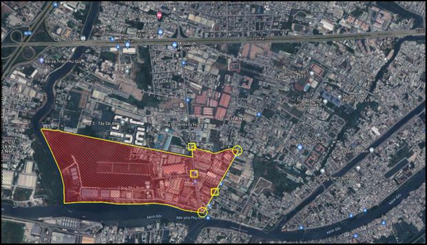 NÓNG: TP.HCM phong tỏa một khu phố hơn 2.000 dân ở quận 8 từ 12 giờ hôm nay-1
