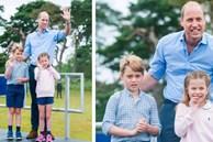 Hoàng tử William xuất hiện rạng rỡ cùng hai con, ngoại hình hiện tại của tiểu hoàng tử và công chúa 'gây sốt' MXH