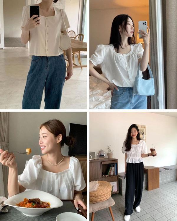 5 kiểu áo blouse trắng phủ sóng hè này: Diện lên auto sang chảnh, lên hình sống ảo đẹp mãn nhãn-1